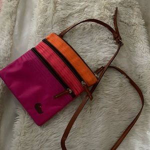 Cross body designer purse